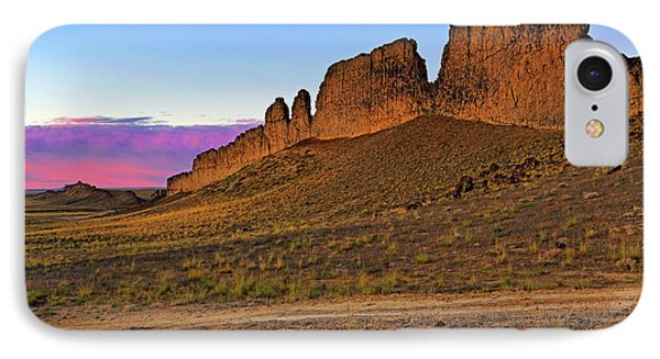 IPhone Case featuring the photograph The Battlements Of Shiprock - New Mexico - Landscape by Jason Politte