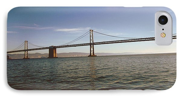 IPhone Case featuring the mixed media The Bay Bridge- By Linda Woods by Linda Woods