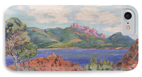 The Bay Of Agay Phone Case by Jean Baptiste Armand Guillaumin