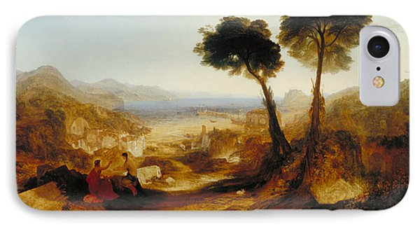The Bay Of Baiae With Apollo And The Sibyl IPhone Case