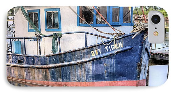 The Bay Tiger IPhone Case by JC Findley