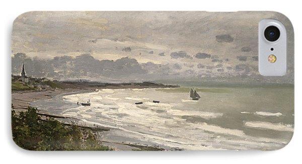 The Beach At Sainte Adresse IPhone Case