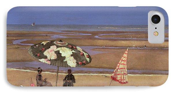 The Beach IPhone Case by Etienne Moreau Nelaton