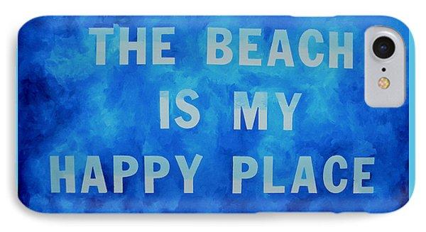 The Beach Is My Happy Place 2 Phone Case by Patti Schermerhorn