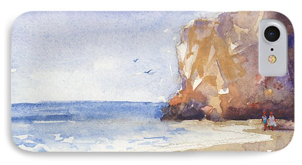 The Beach IPhone Case by Kristina Vardazaryan