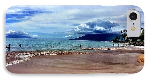 IPhone Case featuring the photograph The Beach by Michael Albright