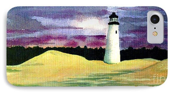 IPhone Case featuring the painting The Beacon by Patricia Griffin Brett