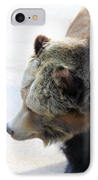 The Bear Phone Case by Karol Livote
