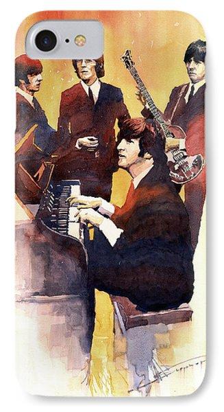Musician iPhone 7 Case - The Beatles 01 by Yuriy Shevchuk