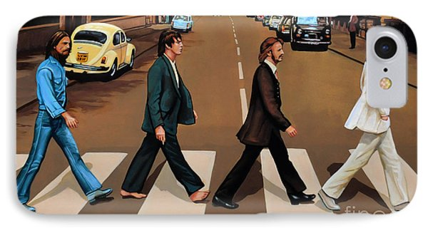 The Beatles Abbey Road IPhone 7 Case by Paul Meijering
