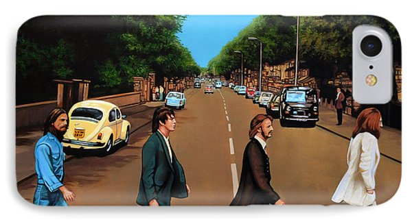 The iPhone 7 Case - The Beatles Abbey Road by Paul Meijering