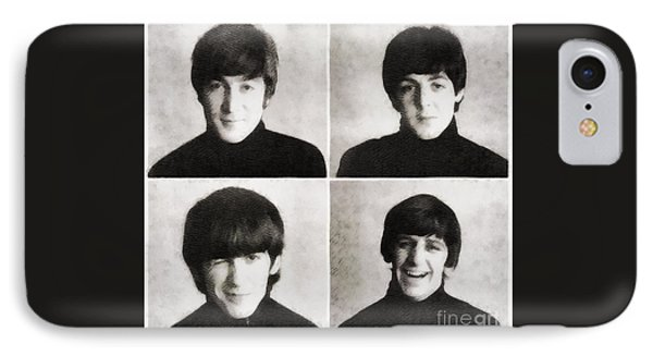 The Beatles By John Springfield IPhone Case by John Springfield