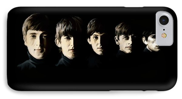 The Beatles Destinies Fate IPhone Case by Iconic Images Art Gallery David Pucciarelli