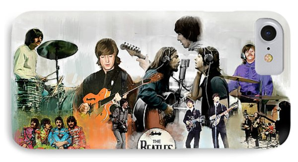 The Beatles Fabs IPhone Case