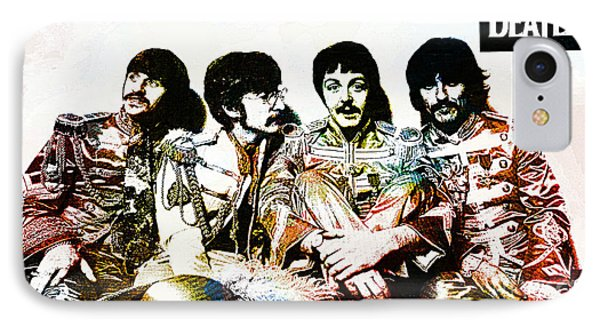 The Beatles--sargent Peppers Lonely Hearts Club Band IPhone Case by Ian Gledhill