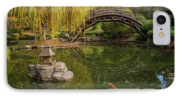 The Beautiful Fall Colors Of The Japanese Gardens IPhone Case by Jamie Pham