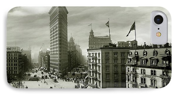 The Beautiful Flatiron Building Circa 1902 IPhone Case