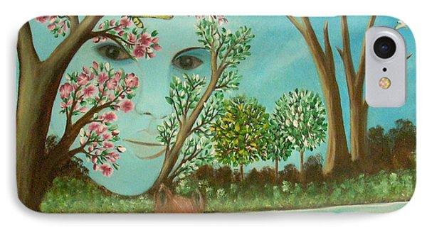 The Beautiful Nature Phone Case by Iris  Mora
