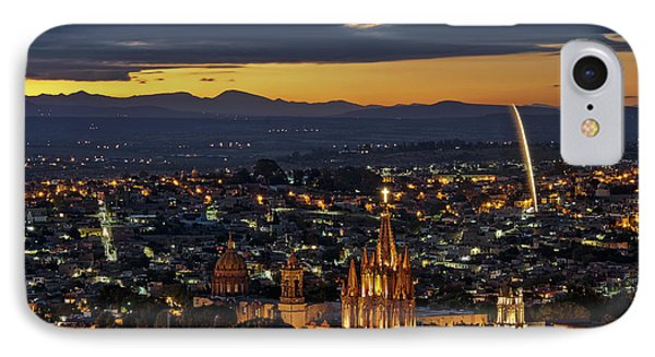 The Beautiful Spanish Colonial City Of San Miguel De Allende, Mexico IPhone Case by Sam Antonio Photography