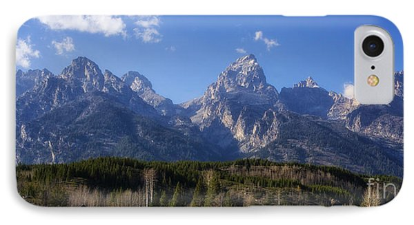 The Beautiful Teton Range IPhone Case by Priscilla Burgers