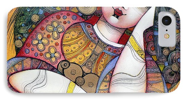 Magician iPhone 7 Case - The Beauty by Albena Vatcheva