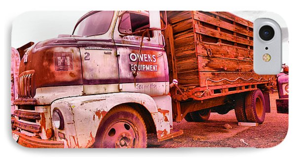 IPhone Case featuring the photograph The Beauty Of An Old Truck by Jeff Swan
