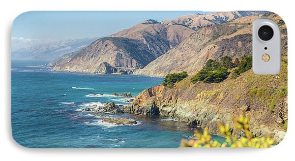 The Beauty Of Big Sur IPhone Case by JR Photography