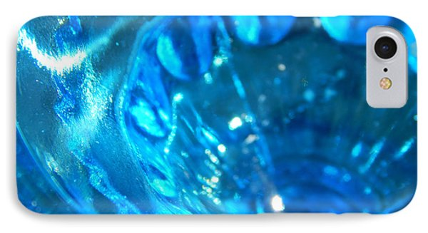 The Beauty Of Blue Glass IPhone Case by Samantha Thome