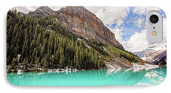 The Beauty Of Lake Louise IPhone Case by Scott Pellegrin