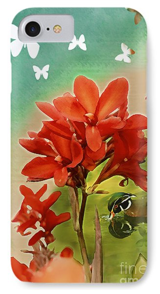 The Beauty Of Nature IPhone Case by Claudia Ellis