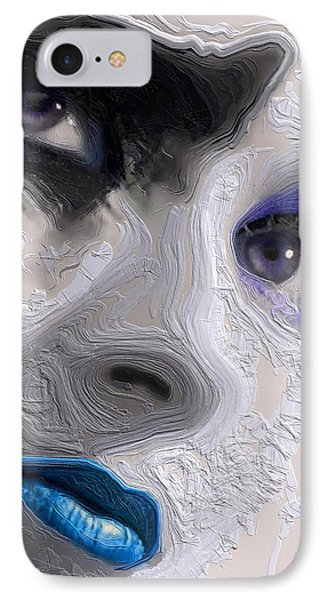 The Beauty Regime Blue IPhone Case by ISAW Gallery