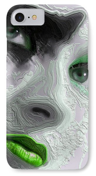 The Beauty Regime Green IPhone Case by ISAW Gallery