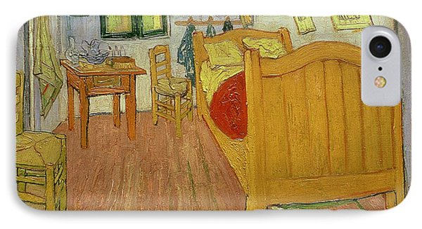 The Bedroom Phone Case by Vincent van Gogh