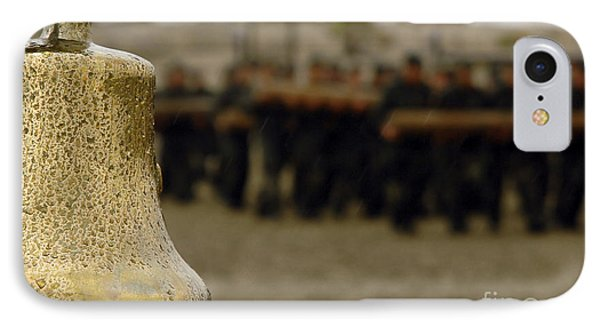 The Bell Is Present On The Beach IPhone Case by Stocktrek Images