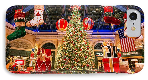 The Bellagio Christmas Tree 2015 IPhone Case by Aloha Art