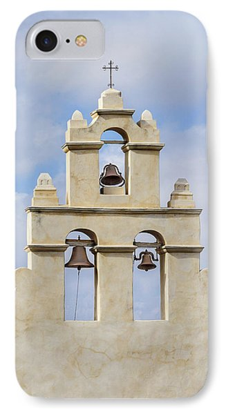 IPhone Case featuring the photograph The Bells Of San Juan by Mary Jo Allen
