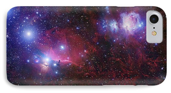 The Belt Stars Of Orion Phone Case by Robert Gendler