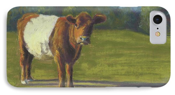 The Belted Cow Phone Case by Terri  Meyer
