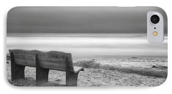 The Bench IPhone Case by Larry Marshall