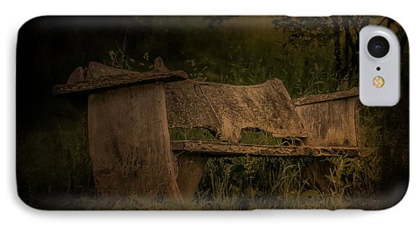IPhone Case featuring the photograph The Bench by Ryan Photography