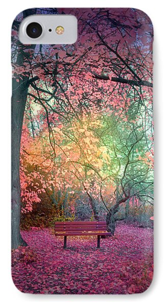 The Bench That Dreams IPhone Case by Tara Turner