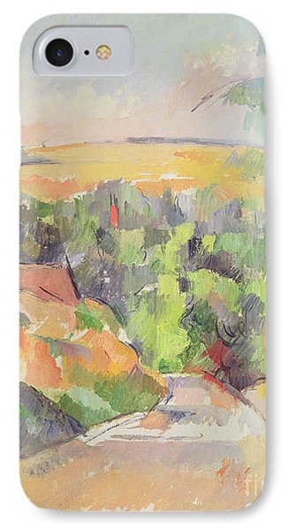 The Bend In The Road Phone Case by Paul Cezanne