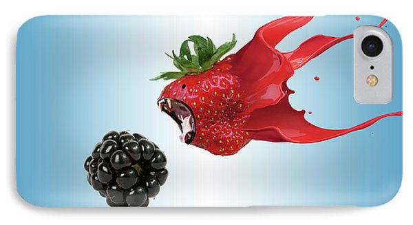 IPhone Case featuring the photograph The Berries by Juli Scalzi