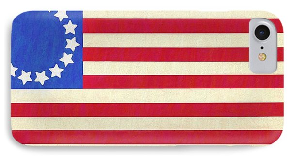 The Betsy Ross Flag IPhone Case by Dan Sproul