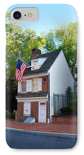 The Betsy Ross House Philadelphia IPhone Case