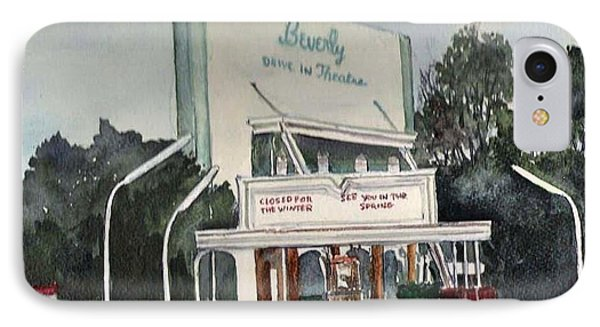 The Beverly Drive Inn IPhone Case