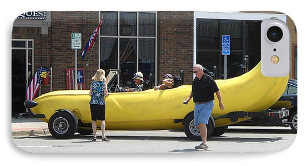 The Big Banana Car Stops By IPhone Case