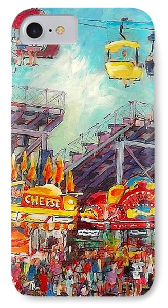 IPhone Case featuring the painting The Big Cheese by Les Leffingwell