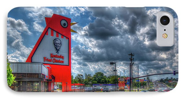 IPhone Case featuring the photograph The Big Chicken by Reid Callaway