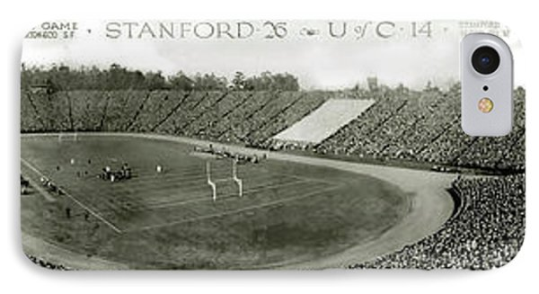 Stanford And U Of C 1925 IPhone Case by Jon Neidert
